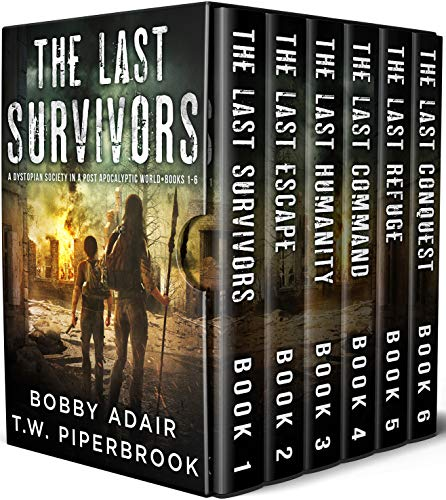 The Last Survivors Box Set: The Complete Post Apocalyptic Series (Books 1 6)