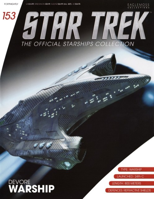 Star Trek: The Official Starships Collection #153 Devore Warship