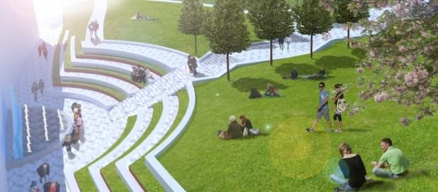 Amphitheatre View Nottingham University