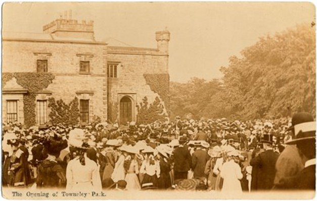 The Opening of Towneley Park, 28th June 1902