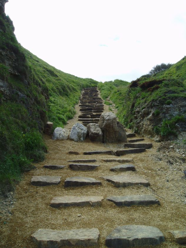 Nose's Point Steps