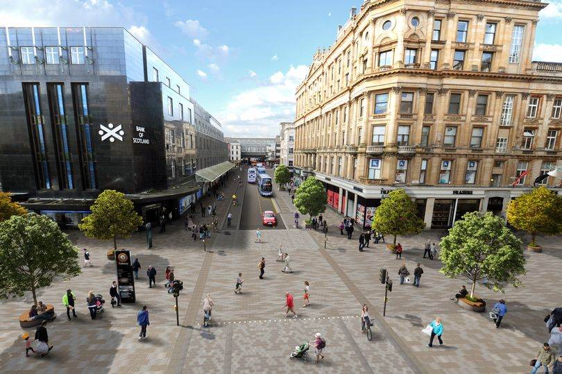 Glasgow City Centre Avenues Project