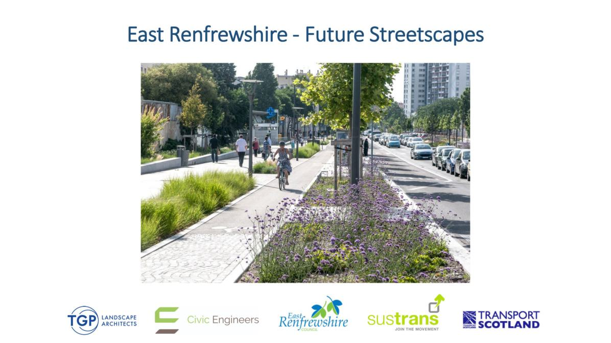 East Renfrewshire Future Streetscapes cover