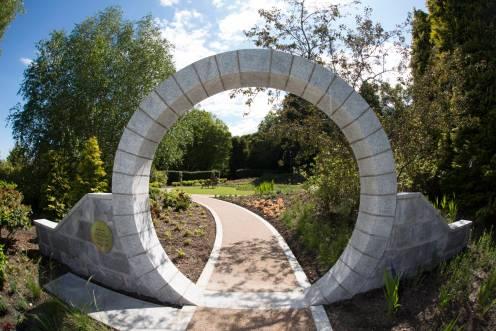 Archway memorial garden