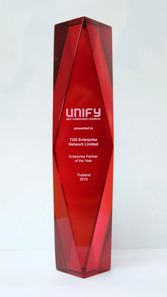 Unify Enterprise Partner Thailand Award