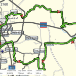 Local Ride map