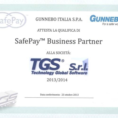 gunnebo safe pay - sistema di pagamento sicuro a ciclo chiuso