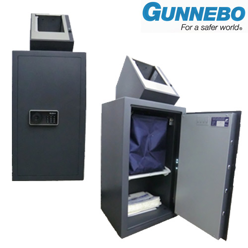 gunnebo bag light - sistema di cassa deposito a ciclo chiuso