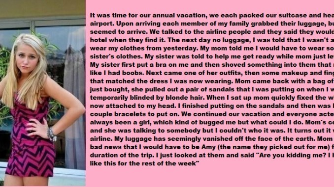 A Long Vacation !! - TG Transformation Stories
