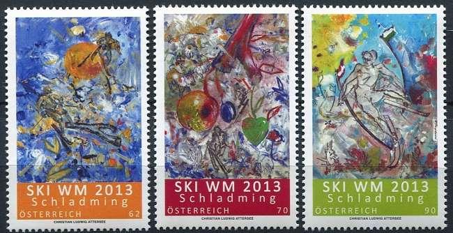 Rakousko - známky 2013