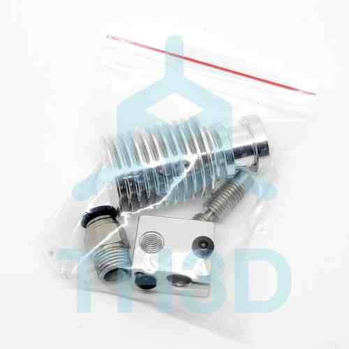 Tough All-Metal Hotend w/ Nozzle Pack (Steel+Brass) - V6 Compatible - 12V/24V
