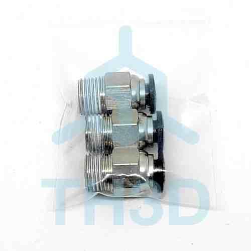 Tough PTFE PC4-M10 Fitting - 3 Pack
