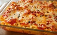 Chicken Parmesan Baked Penne Recipe