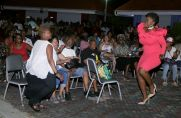 Tobago songstress Yolanda thrills the crowd with smooth vocals and magnetic stage presence.