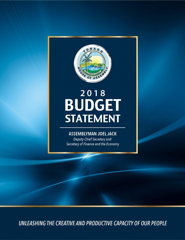 Budget Statement for Fiscal 2018