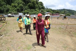 Touring of the Roxborough Administrative Complex site.