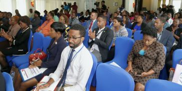 Attendees at the ICT Summit.