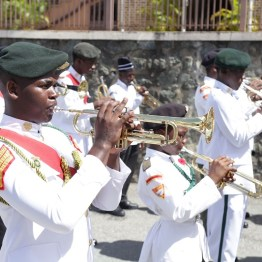 The trumpet is played by members of the Defence Force Reserves during the Remembrance Day Parade and Ceremony to honour Trinidad and Tobago's military veterans.