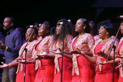 The Tobago Division Choir displays its talent with their rendition of a negro spiritual.