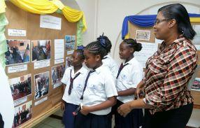 Scarborough Methodist primary school pupils.
