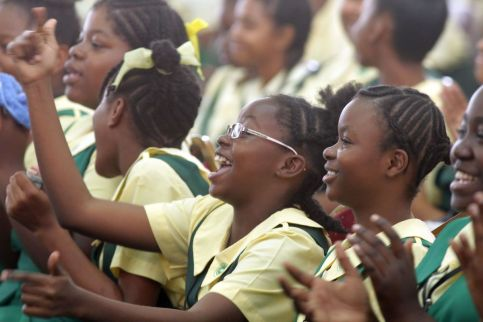 Signal Hill Secondary School celebrates the institution's 41 years in existence.