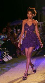 Models wearing pieces from Elizabeth Arthur's Kimimi swimwear collection.