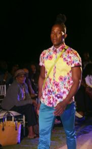 "The men were well represented through Ecliff Elie's ""Drevait"" collection."