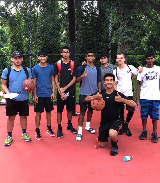 Hittin' the courts to make a difference