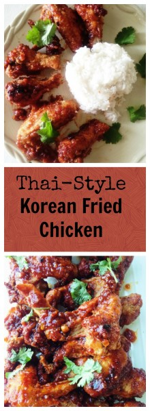 Thai-Style Korean Fried Chicken Recipe | Thai-Foodie: If you are craving soul food Thai-Korean style, you need to make Thai-Style Korean Fried Chicken tonight!! The twice fried chicken and epic sauce made of lip-smackin' honey, and spicy Gochujang will make all your worries float away! | thai-foodie.com