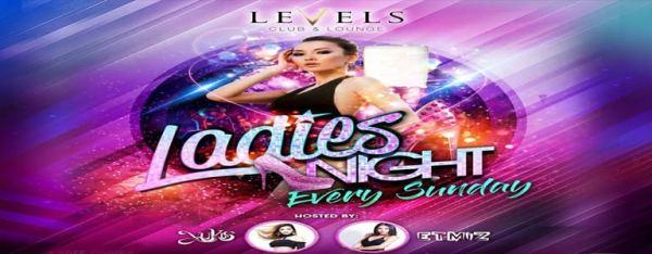 Sunday Ladies Night at Levels Club - Thai 2 Siam