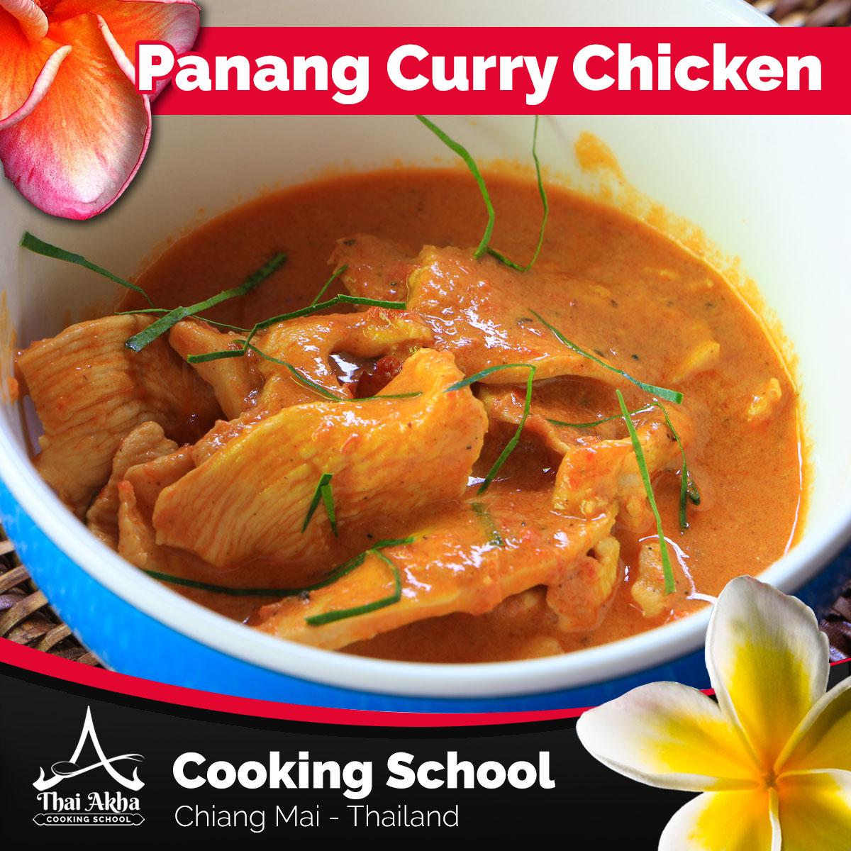 Panang Curry Chicken - Akha Kitchen - Akha Recipes - Thai Akha Kitchen