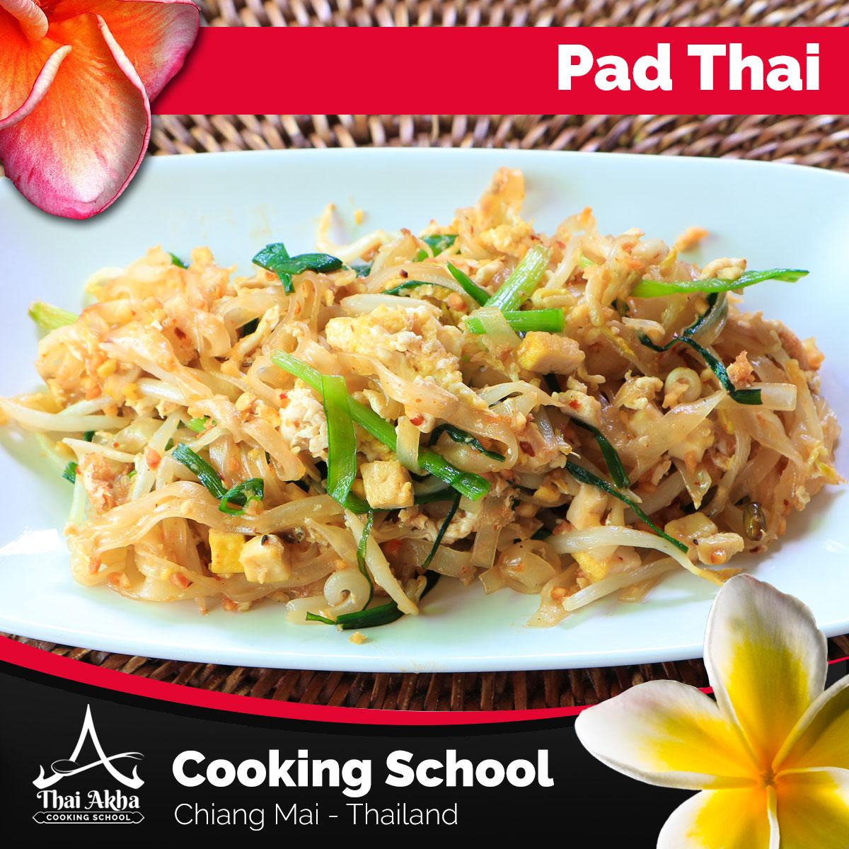 Pad Thai - Akha Kitchen - Akha Recipes - Thai Akha Kitchen