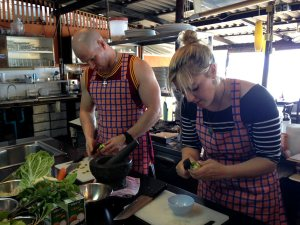 Thai Cooking Course Oct 2015