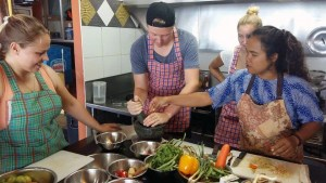 Cooking Course With a Bigger Group