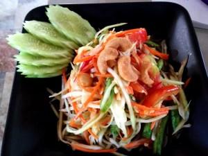 Thai Cooking Recipe Papaya Salad, Course March