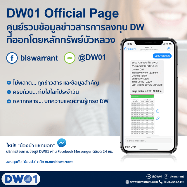 DW01 official Page