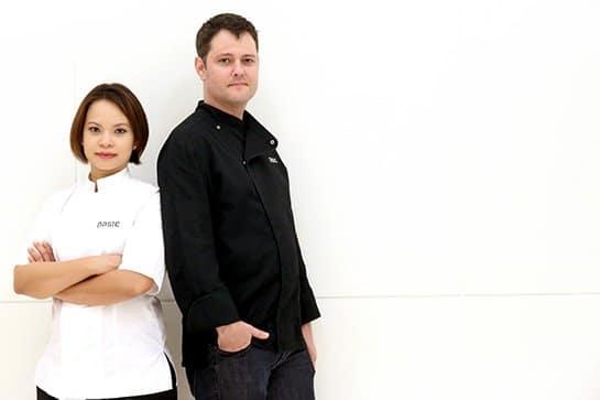 Chef Jason and Chef Bee