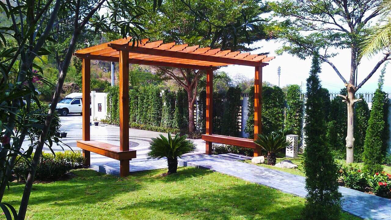 Building A Pergola In Your Thai Garden Thai Garden