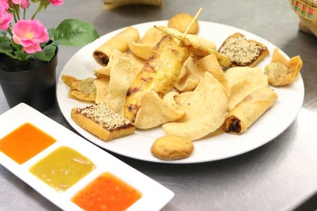 Thai food starters