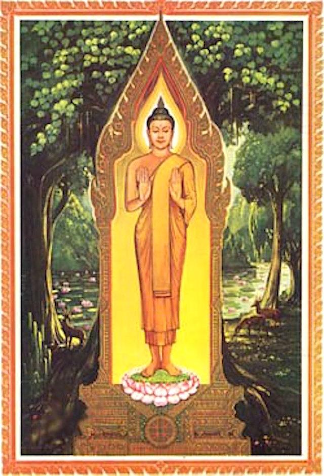 Monday Buddha Bpaang Haam Yaat