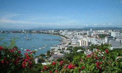 Pattaya city Thailand beach and fun destination
