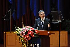 Asian Development Bank (ADB) President Haruhiko Kuroda