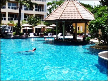 Tourism thailand pool