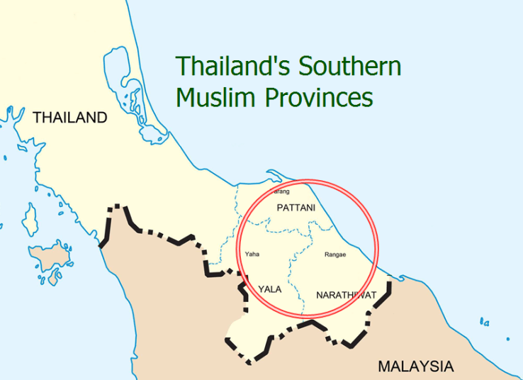 Pattani Thailand Map.Thai Pm Meets With Local Religious Leaders In Deep South Politics