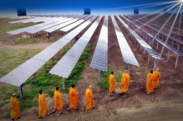 Lopburi solar power plant.