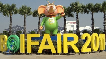 BOI Fair 2011 is Asia's first international low carbon fair aiming to reduce carbon emissions.