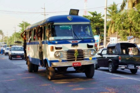 "A few new buses can also be seen in the streets, alongside the old ones in the town that one Brazilian tourist described as ""resembling Cuba""."