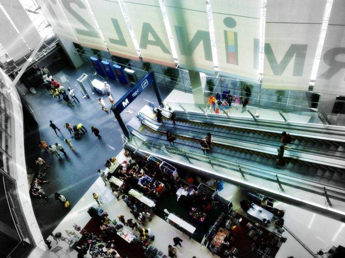 Shopping center terminal 21