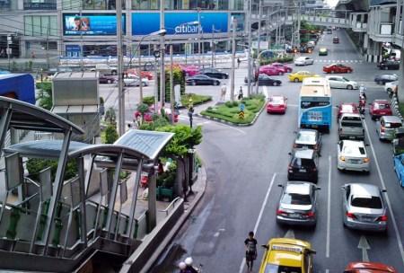 street view Bangkok Downtown