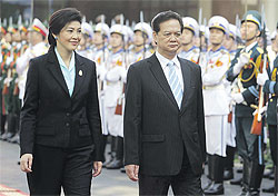 Thailand and Vietnam aim for trade worth US$18 billion in 2015